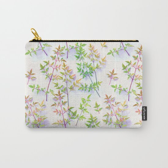 Leaves in the Light Carry-All Pouch