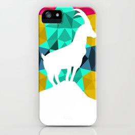 Origami Goat iPhone Case