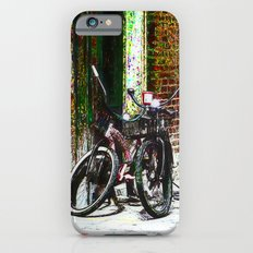 Two Bicycles In the Alley iPhone 6s Slim Case