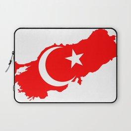 Turk Bayragi Laptop Sleeve