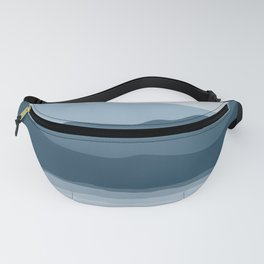 Blue Seascape Fanny Pack