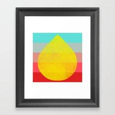 flourish 1 Framed Art Print