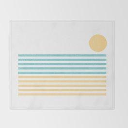 Sunset Lines Throw Blanket