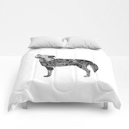 Henna-Inspired Wolf Comforters