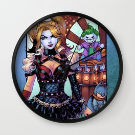 Harley - Gotham Girls 3 Wall Clock