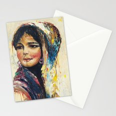 Vintage Girl Stationery Cards