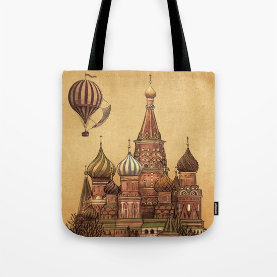 Trip to Moscow Tote Bag