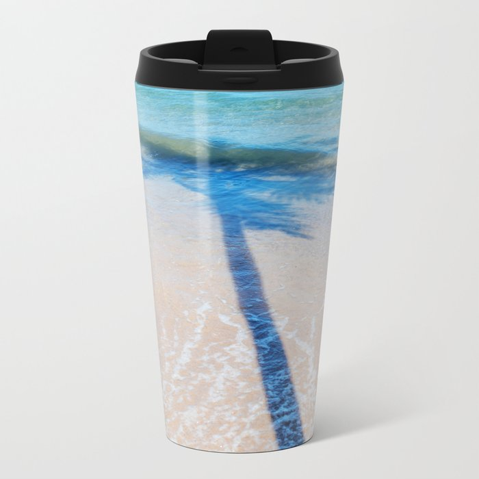 TREE IN SEA Metal Travel Mug