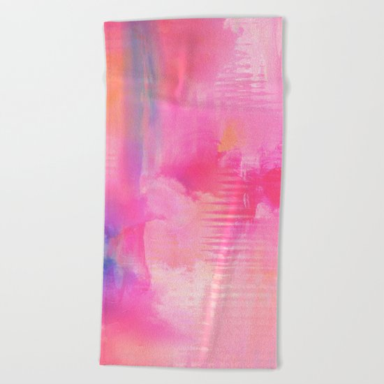 Abstract NC 03 Beach Towel