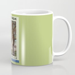 Travel Poster Soldiers' Point, NSW Coffee Mug