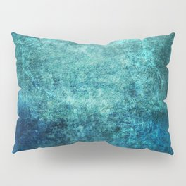 Turquoise Ocean Marble Pillow Sham