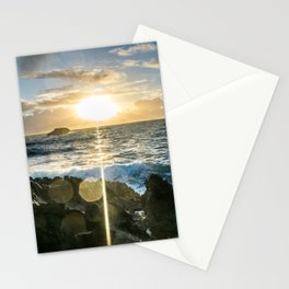 Sunrises in the East, Oahu Stationery Cards
