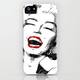 Sunshine Marilyn iPhone Case