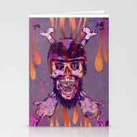 moto Stationery Cards featuring Moto Head by Beery Method