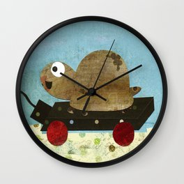Taking My Time Wall Clock