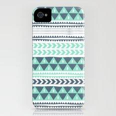 Winter Stripe Slim Case iPhone (4, 4s)