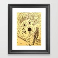 Open Up! Framed Art Print