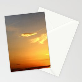 Sunset 041417 Abilene, Texas Stationery Cards
