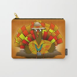 Vacation Turkey Illustration Carry-All Pouch