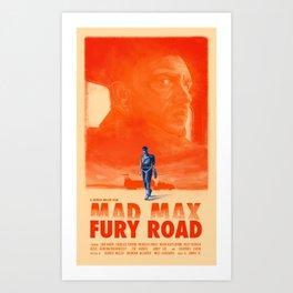 Mad Max: Fury Road Art Print