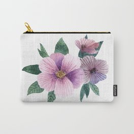 Simple pirple flowers Carry-All Pouch
