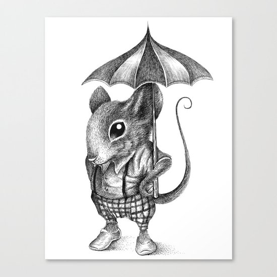 MISTER MOUSE Canvas Print