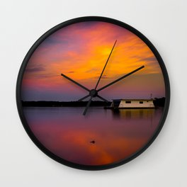Home on the Bay Wall Clock