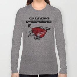 COUCH POTATOE Long Sleeve T-shirt