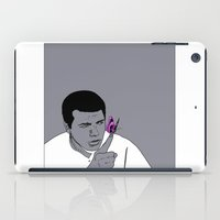 ali iPad Cases featuring Ali by Cyrille Savelieff