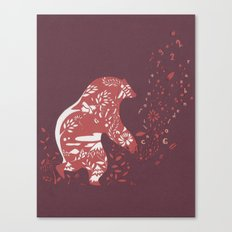 Golden Bear Canvas Print