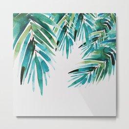 Under palm trees Metal Print