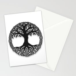 Yggdrasil, the northsmen tree of life Stationery Cards