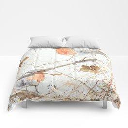 Kleine rote Vögelchen (Little red birdies) Comforters