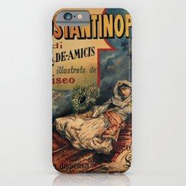 Constantinople Italian vintage book advertisement iPhone Case
