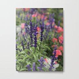 Flowers in Butchart's Garden Metal Print