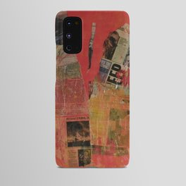 Red Collage Android Case