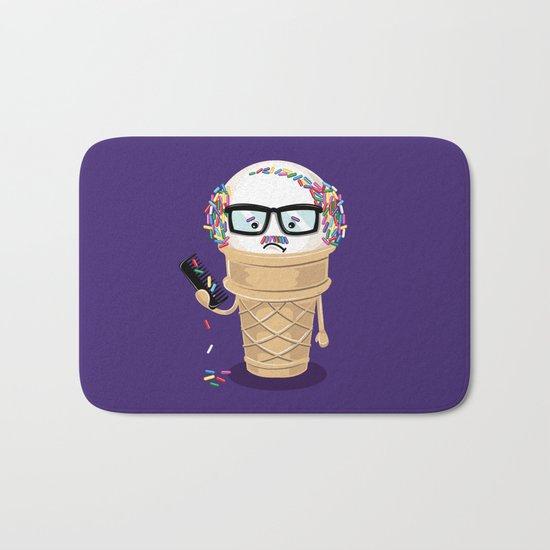 Ice Cream Coneover Bath Mat