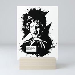 THE EXORCIST :: CHRIS MACNEIL Mini Art Print