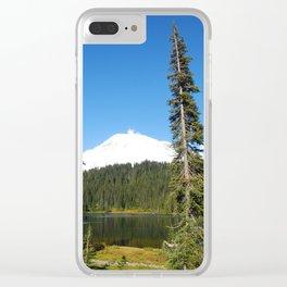 Hello, Mt. Rainier! Clear iPhone Case