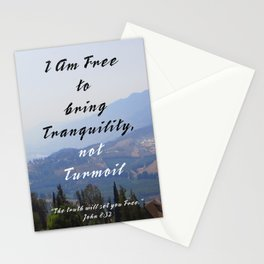 Bring Tranquility Stationery Cards