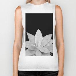 Gray Agave on Black #1 #tropical #decor #art #society6 Biker Tank
