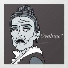 Female Trouble Series: Frau Blücher from Young Frankenstein Canvas Print