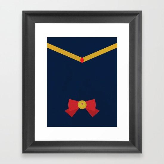 sailor moon Framed Art Print