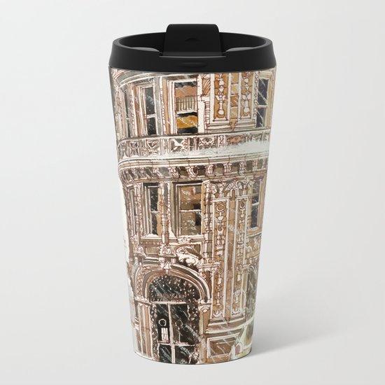 Winter in NYC Metal Travel Mug