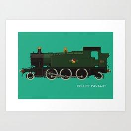 Collett 4575 2-6-2T Art Print
