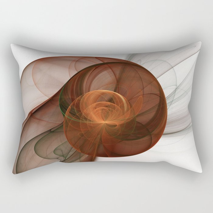 Abstract Art Fractal Fantasy Figure Rectangular Pillow