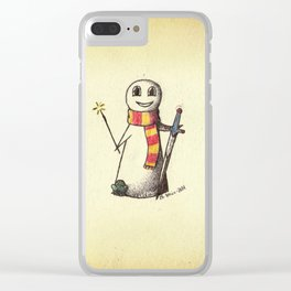 The Silver Trio Clear iPhone Case