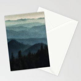 Portrait Length Foothills Tapestry Stationery Cards