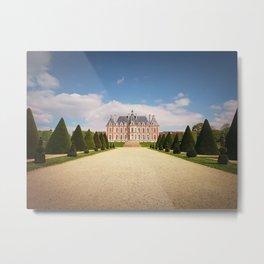 Chateau de Sceaux Metal Print