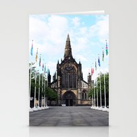 medieval Stationery Cards featuring medieval glasgow by seb mcnulty